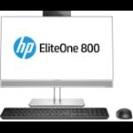 "HP EliteOne 800 G3 23.8"" 1920 x 1080 pixels 7th gen Intel® Core™ i5 8 GB DDR4-SDRAM 256 GB SSD Wi-Fi 5 (802.11ac) Black,Silver All-in-One PC Windows 10 Pro"