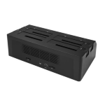 "StarTech.com 4-Bay SATA HDD Docking Station - For 2.5""/3.5"" SSDs/HDDs - USB 3.1 (10Gbps)"