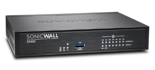 SonicWall TZ400 hardware firewall 1300 Mbit/s Desktop