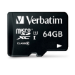 Verbatim 64GB microSDXC (Adapt) 64GB MicroSDXC Class 10 memory card