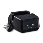 CyberPower PS205U mobile device charger Indoor Black