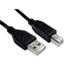 Cables Direct 99CDL2-102 USB cable 2 m USB 2.0 USB A USB B Black