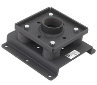 Chief Structural Ceiling Plate flat panel ceiling mount Black