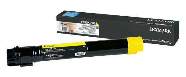 Lexmark 22Z0011 Toner yellow, 22K pages
