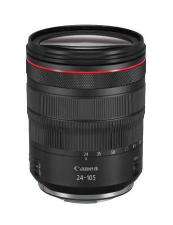 Canon RF 24-105mm f/4L IS USM MILC/SLR Standard lens Black