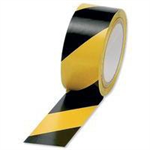 FSMISC VINYL TAPE HAZARD YELLOW/BLACK