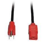 """Tripp Lite P006-004-RD power cable Black/Red 47.2"""" (1.2 m) C13 coupler NEMA 5-15P"""