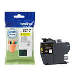 Brother LC-3217Y Ink cartridge yellow, 550 pages, 9ml