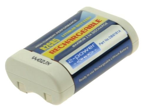 2-Power Digital Camera Battery 6v 500mAh