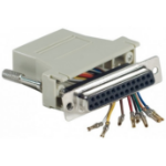 Hypertec 250450-HY cable interface/gender adapter RJ-45 DB25 Grey