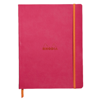 RHODIA rama Softcover Notebook Lined 190x250 Raspberry