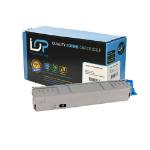 Click, Save & Print Remanufactured Oki 44059256 Black Toner Cartridge