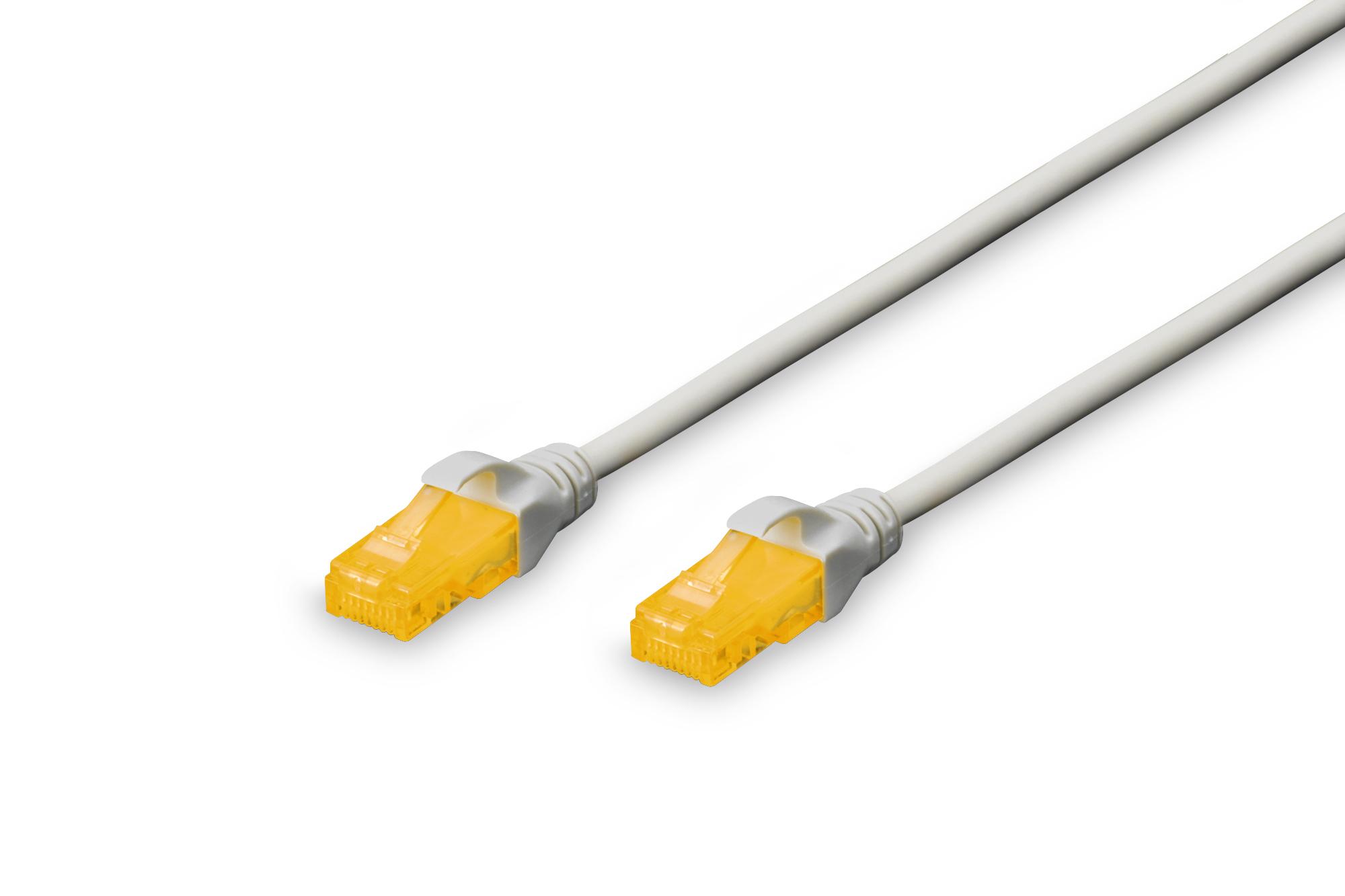 Digitus 2m Cat6a U/UTP cable de red U/UTP (UTP) Gris