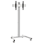 """Vogel's T1544 64"""" Portable flat panel floor stand Silver"""