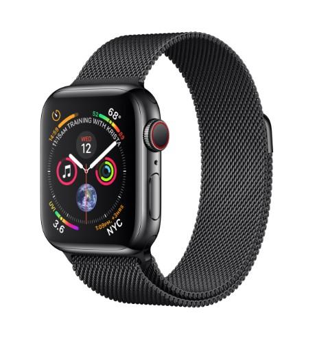Apple Watch Series 4 smartwatch Black OLED Cellular GPS (satellite)
