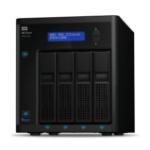 Western Digital My Cloud Pro PR4100 N3710 Eingebauter Ethernet-Anschluss Desktop Schwarz NAS