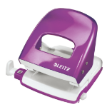 Leitz NeXXt WOW hole punch 30 sheets Purple