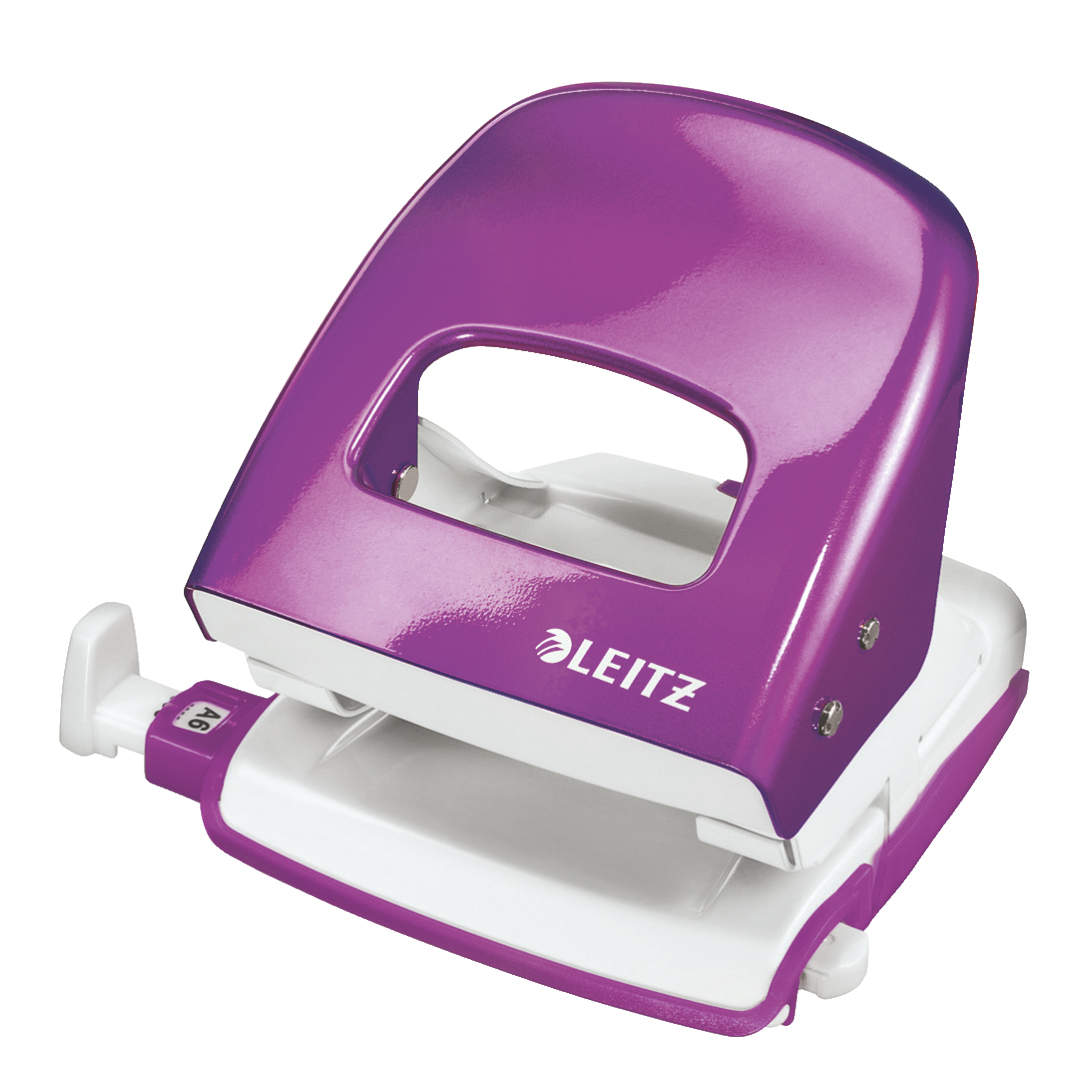Leitz NeXXt WOW hole punch 30 sheets Purple