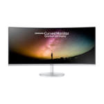 "Samsung C34F791WQU LED display 86.4 cm (34"") 3440 x 1440 pixels WQHD Curved Matt White"