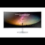 "Samsung C34F791WQU LED display 86,4 cm (34"") 3440 x 1440 Pixeles WQHD Curva Mate Blanco"