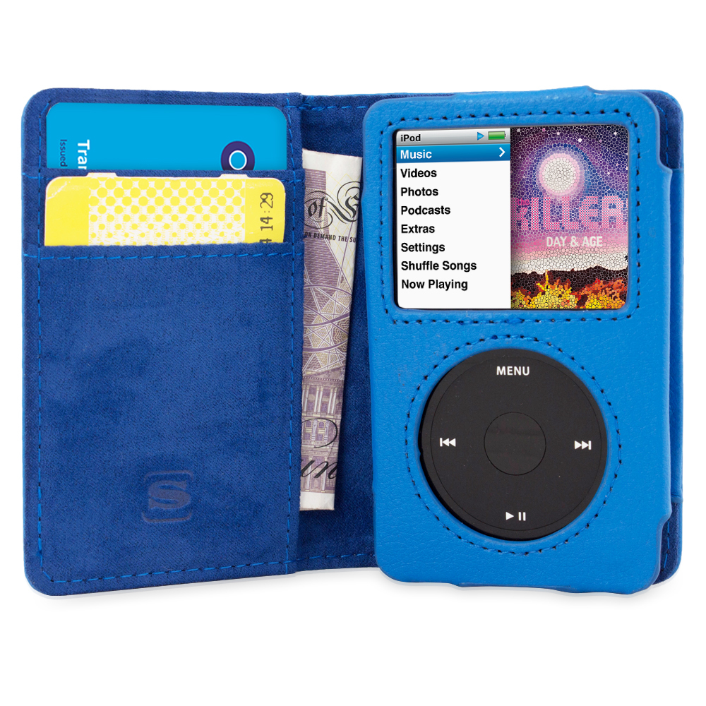 TheSnugg B00U8S365A Wallet case Blue MP3/MP4 player case
