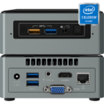 Media Vision CS/VMP Cel 6CAYH 2GB 128GB SSU800 digital media player 3840 x 2160 pixels Wi-Fi Black,Silver