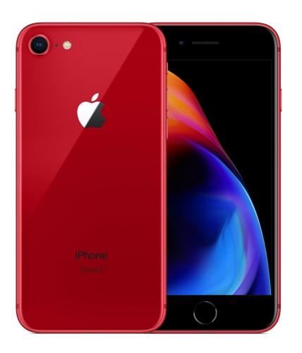 "Apple iPhone 8 11.9 cm (4.7"") 256 GB Single SIM 4G Red"
