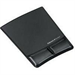 Fellowes Health-V Crystal Mouse Pad/Wrist Support Black