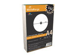 MediaRange MRINK130 self-adhesive label White 100 pc(s)