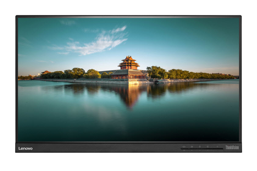 "Lenovo T2364t 23"" 1920 x 1080pixels Multi-touch Black"
