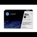 HP 80A 1 stuk(s) Origineel Zwart
