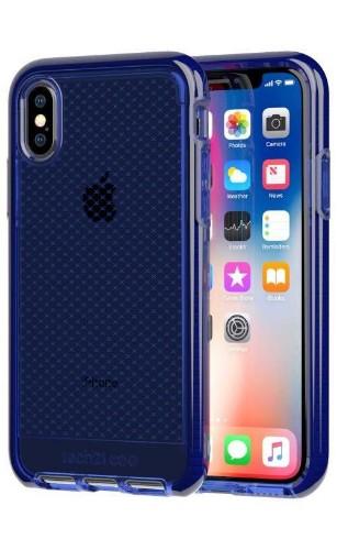 "Tech21 Evo Check mobile phone case 14.7 cm (5.8"") Cover Blue"