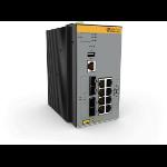 Allied Telesis AT-IE340-12GT-80 Managed L3 Gigabit Ethernet (10/100/1000) Grey