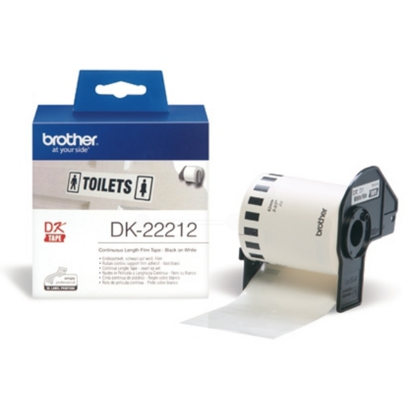 Brother DK-22212 P-Touch Etikettes, 62mm x 15,24m