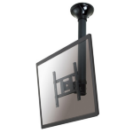 """Newstar TV/Monitor Ceiling Mount for 10""""-40"""" Screen, Height Adjustable - Black"""