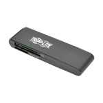 Tripp Lite U352-000-SD card reader USB 3.2 Gen 1 (3.1 Gen 1) Black