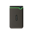 Transcend StoreJet 25M3 external hard drive 1000 GB Green,Grey