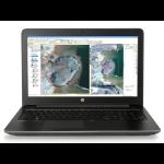 """HP ZBook 15 G3 2.6GHz I7-6700HQ 15.6"""" 1920 x 1080pixels Black Mobile workstation"""