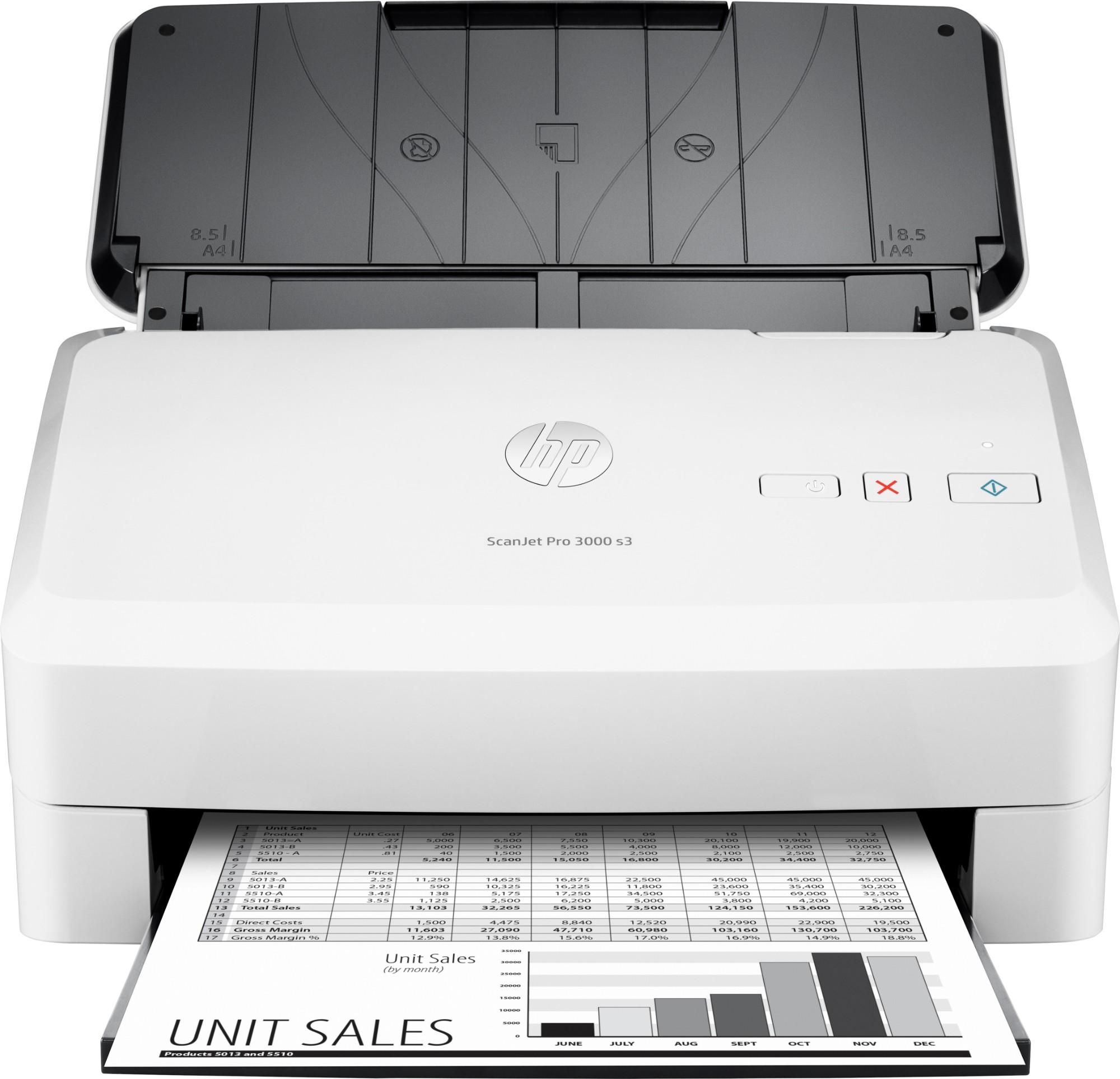 HP Scanjet Pro 3000 s3 600 x 600 DPI Paginascanner Wit A4