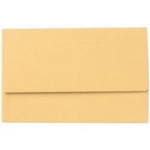 Exacompta Value Document Wallet Foolscap Yellow PK50