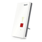 FRITZ! Repeater 2400 Transmisor y receptor de red Gris, Blanco 10, 100, 1000 Mbit/s