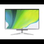 "Acer Aspire C22-963 54.6 cm (21.5"") 1920 x 1080 pixels 10th gen Intel® Core™ i3 8 GB DDR4-SDRAM 1128 GB HDD+SSD All-in-One PC Windows 10 Home Wi-Fi 5 (802.11ac) Silver"