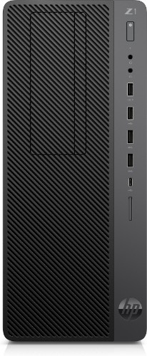HP Z1 G5 9th gen Intel® Core™ i7 i7-9700 16 GB DDR4-SDRAM 256 GB SSD Tower Black Workstation Windows 10 Pro