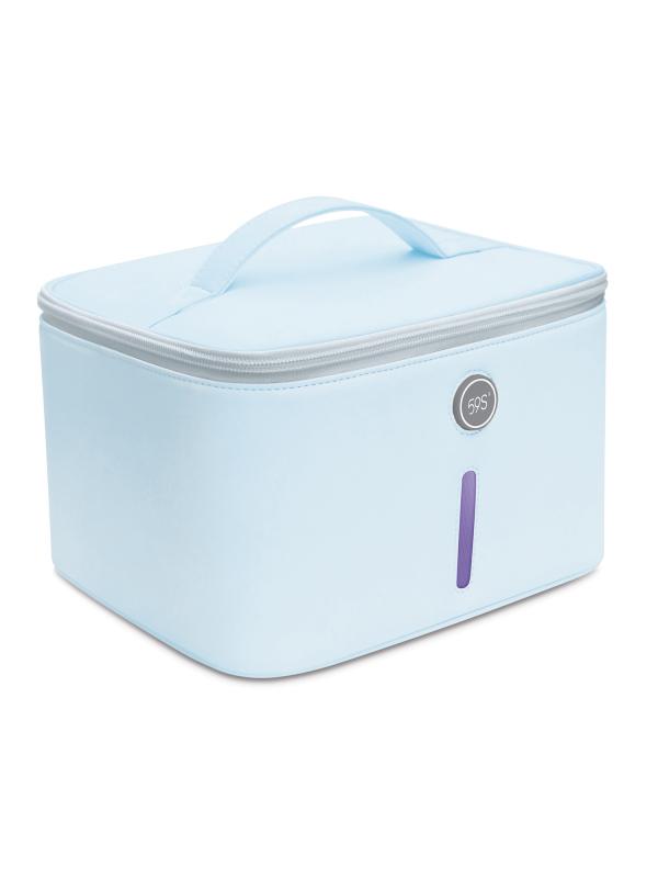 V7 Esterilizador UV, esterilizador UV 59S con 24 LED y con bolsa, esterilización rápida al 99,9 %, adecuado para ropa interior, teléfonos móviles, ratones, vasos, gafas, etc.