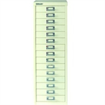 Bisley FF BISLEY 45 NON LOCK MULTIDRAWER WHITE