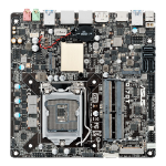 ASUS Q170T/CSM LGA 1151 (Socket H4) Intel® Q170 Mini ITX