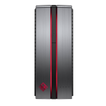 HP OMEN 870-244 7th gen Intel® Core™ i7 i7-7700 16 GB DDR4-SDRAM 1000 GB HDD Black,Silver Desktop PC