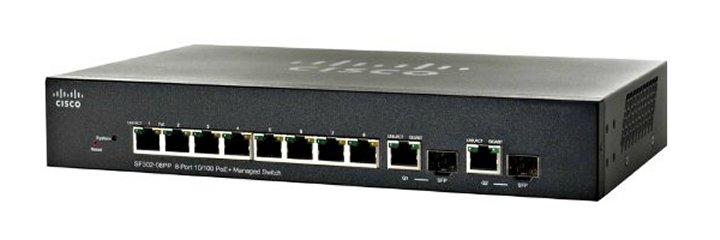 Cisco Small Business SF302-08PP-K9-EU network switch
