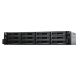Synology RX1217RP disk array 96 TB Rack (2U) Black, Grey