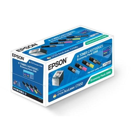 Epson C13S050268 (0268) Toner MultiPack, 4500+3x1500